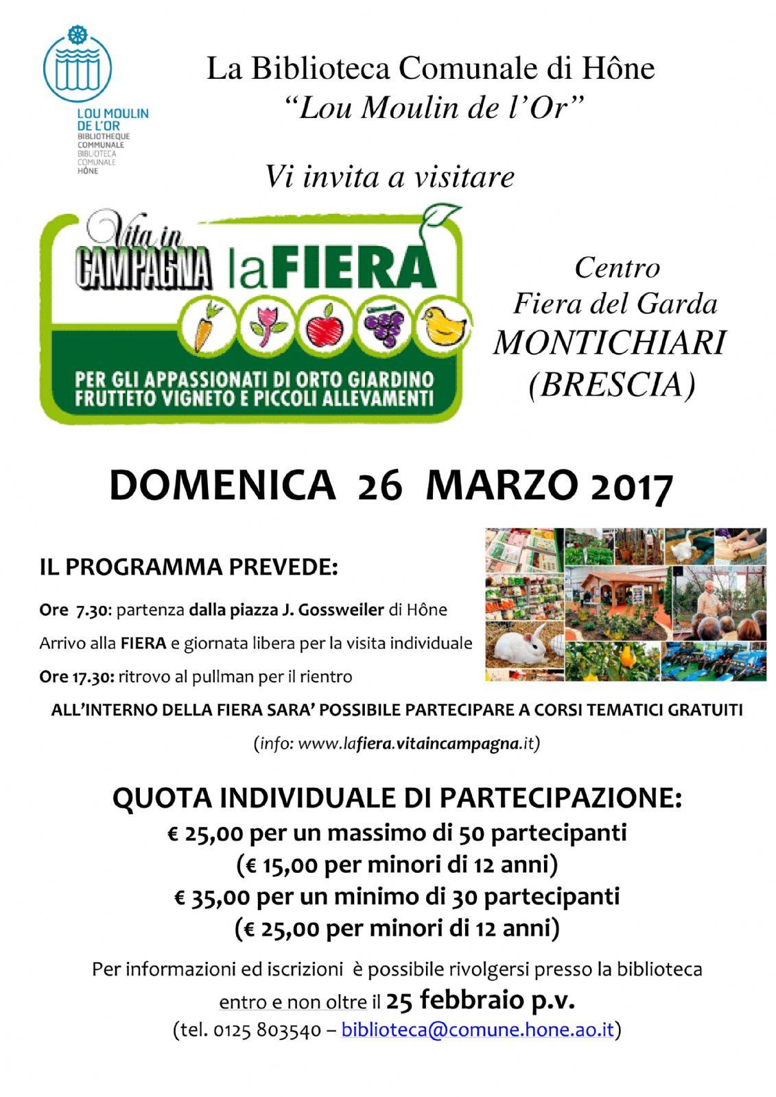 Calendario Fiera Montichiari.Fiera Di Vita In Campagna Montichiari Brescia Comune